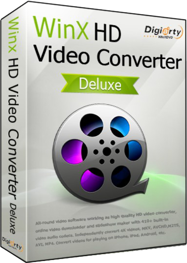 WinX HD Video Converter Deluxe 5.12.1 Portable by Alz50