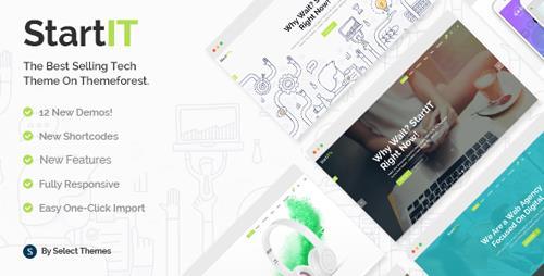 ThemeForest - Startit v2.7 - A Fresh Startup Business Theme - 13542725