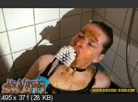 Hightide: (Julia, 2 males) - JULIA & FRIENDS - SKAT! [HD 720p] - Scatology, Sex Scat, Amateur
