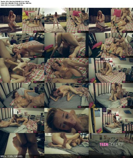 Ava Parker - Split Screen Teens (Teen, Young) TeenFidelity.com / KellyMadisonMedia.com [SD] ()
