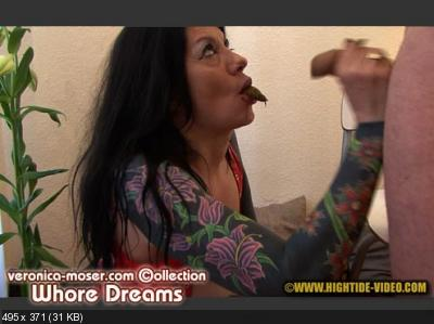 Veronica Moser, 1 male - VM32 - WHORE DREAMS [Hightide / 1.77 GB] HD 720p (Blowjob, Anal, Milf)