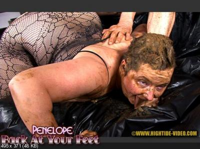 Penelope, 1 male - PENELOPE - BACK AT YOUR FEET [Hightide / 1.12 GB] HD 720p (Domination, Sex Scat, Blowjob)