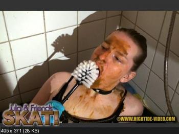 Hightide (Julia, 2 males) JULIA & FRIENDS - SKAT! [HD 720p] Scatology, Sex Scat, Amateur