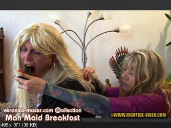 Hightide (Veronica Moser, TV Andrea) VM61 - MAN MAID BREAKFAST [HD 720p] Humiliation, Milf, Strapon