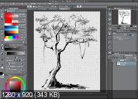 Clip Studio Paint EX 1.8.4 + Materials