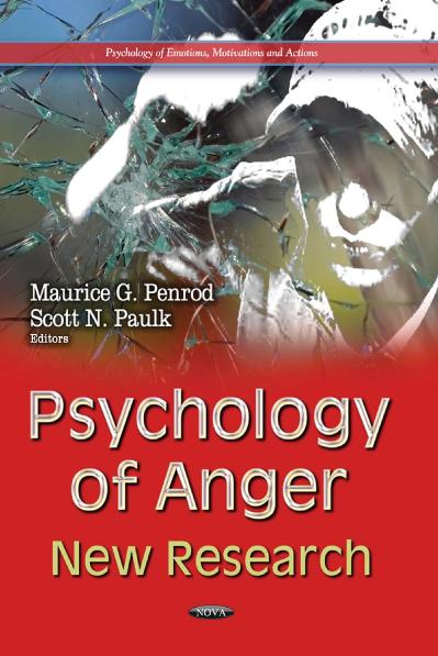 Psychology of Anger New Research