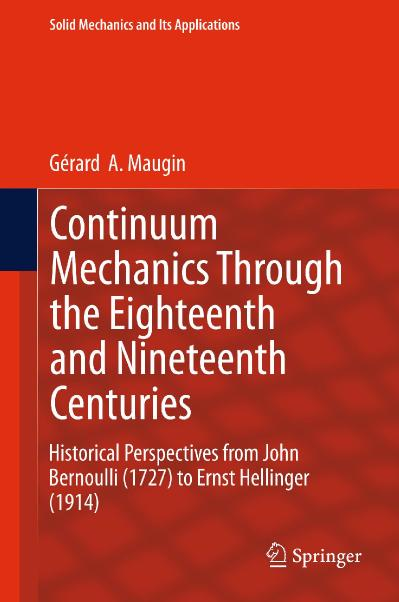 Continuum Mechanics Through the Eighteenth and Nineteenth Centuries