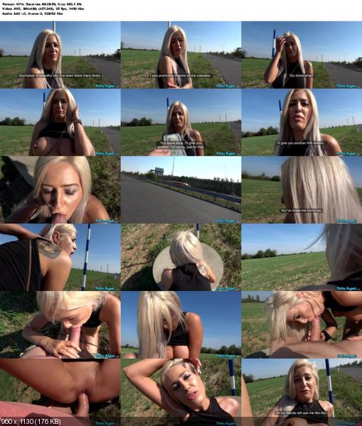 Blanche Summer - Sweet Romanian pussy gets creampied (Blonde) PublicAgent.com / FakeHub.com [SD] ()