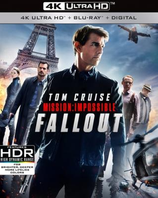 ������ �����������: ����������� / Mission: Impossible - Fallout (2018) UHD Blu-Ray 2160p | IMAX Edition | HDR | Dolby Vision | ��������