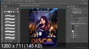 Создаем в Фотошоп постер «Королева Disco» (2018) PCRec
