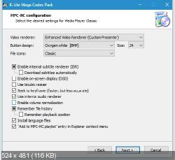 K-Lite Mega / Full / Basic / Standard / Codec Pack 14.6.6