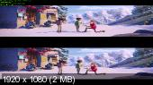 Смолфут 3D / Smallfoot 3D (by Ash61) Вертикальная анаморфная стереопара
