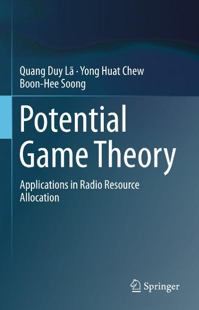 Potential Game Theory Applications in Radio Resource Allocation