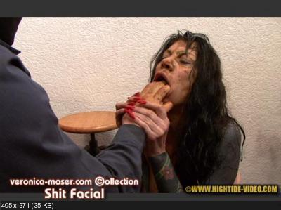 Veronica Moser, 1 male - VM64 - SHIT FACIAL [Hightide / 1.27 GB] HD 720p (Toilet Slavery, Milf)
