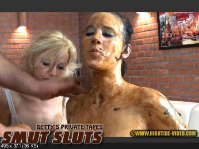 Betty, Desiree, 1 male - BETTY PRIVATE - SMUT SLUTS [Hightide / 1.31 GB] SD 720p (Blowjob, Group)