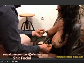Hightide (Veronica Moser, 1 male) VM64 - SHIT FACIAL [HD 720p] Toilet Slavery, Milf