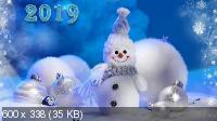 Новогодние обои 2019 №2