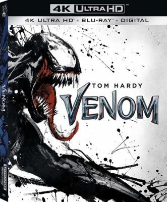 Веном / Venom (2018) UHD Blu-ray 2160p | 4K | HDR | Dolby Vision | D, A | Лицензия
